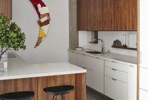 Little mid mod kitchen