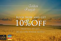 Special Offers / Save More with special offers at UNA Hotels.