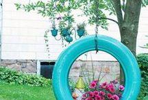 JARDIN / Reciclaje en el jardín.