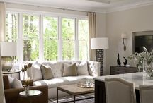 Living  room and decor / by Pamela Massey