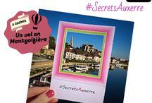 """Concours photo Instagram """"Cadrez vos Secrets d'Auxerre"""" / Participations au concours photo #SecretsAuxerre lancé par l'office de tourisme, du 2 au 31 mai 2015."""