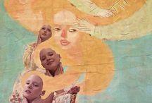La tonsura - Dreaming Josephine Baker / Editorial for Alila Mag Illustrazioni: Alberto Pagliaro Styling: Hylozoic*A Model: Anna Benedyktova