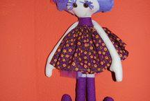 muñecas patas largas / muñecas de tela