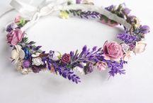 flower crowns, headresses