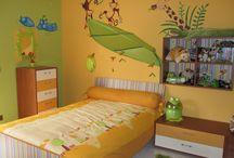 cameretta giungla - nursery giungla felice / la prima cameretta di Nicol... aspettando la mia principessa