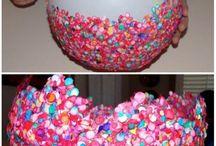 Confetti balloon bowl
