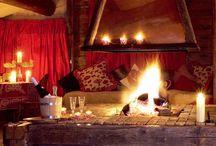 open fireplace ideas