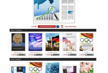Web Templates / Web templates are very much helpful to make your website design in a very unique way.
