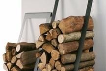 Armazenamento de madeira