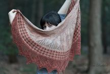 Designers using our yarns. / Pattern designs made with our yarns