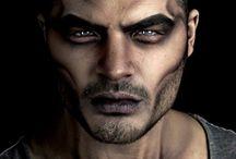 cosplay men makeup