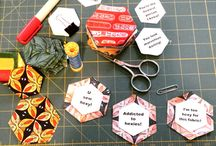 English Paper Piecing techniques