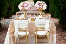 :: Pink & Gold Wedding :: / having a pink and gold themed wedding? This is the board for you.