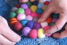 羊毛・毛糸ボンボン