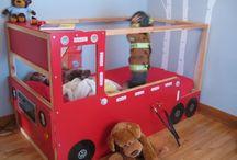 postel hasiči