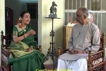 Bharatanatyam - Sudharani Ragupathy Interacts With Shri V.A.K. Ranga Rao on Thillanas  / https://www.youtube.com/user/GeethanjaliVideos