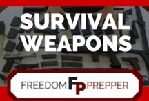 Survival Weapons / Weapon information and tips for building homemade weapons from scratch and stocking a robust arsenal. DIY weapons and project for homemade weapons, instructions, best weapons, do it yourself defense, guns and ammo for preppers and survival.