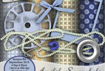 ApriltheScrapaholic Sample Kits