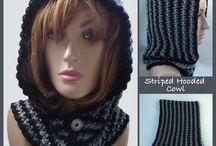 Capucha c/cuello o bufanda