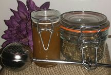 Custom Body Butters, Candles, and Teas / You can customize your own products from teas to candles. Nothing is pre-made.