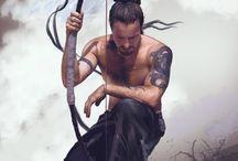 Ninja, Geisha, Samurai, Kungfu, Killer