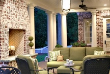 front doors and porches  / by Barbara Waterbury
