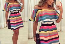 vestidos casuais