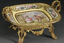 Antique & Vintage Sevres Porcelain / Marvelous Sevres Porcelain from France in the Time to buy an antique is when u see it !.