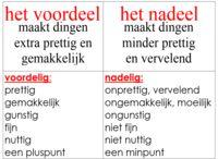 taal; tegenstellingen