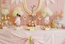 Vintage Baby Shower / A collection of vintage inspired baby showers. Browse these pretty and dainty inspirations.