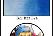 Copics / Tips for Copic markers. Coloring