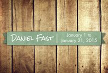 The Daniel Fast / Get ready for our 21 day fast coming up on January 1, 2015! / by Lexington Baptist