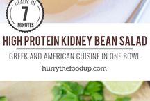 High protein vegetarian