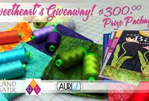 Giveaways + Promotions