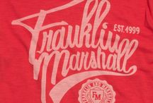 Fonts / Behind every Franklin & Marshall collection, there's a deep study on typography.