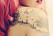 Tattoos ,Piercing and body art / Tattoos are just another way of expressing ourselves .It's art  / by Coseraru Roberta