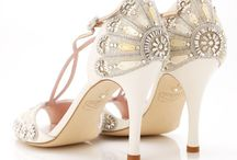 Emmy London Shoes / We are proud stockists of the beautiful Emmy London shoes! Elegant, timeless and delicate wedding shoes with a hint of vintage glamour. x