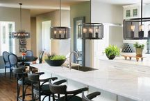 Pendant Lighting / Perfect lighting for your kitchen, or really anywhere!