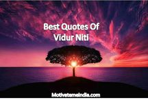Best Uplifting Quotes of Vidur Niti