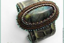 Bead Embroidery: Bracelets