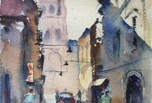 Fernando Pena Garay-Watercolours