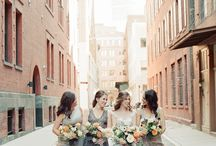 Bridesmaid Style / Bridesmaids dresses that you'll actually want to wear again! Floor length bridesmaid dresses, lace bridesmaid dresses, short bridesmaid dresses, pastel bridesmaid dresses and everything in between!
