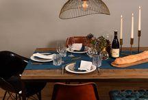 DINNER STORIES / Stories, Table decoration, Recipes & Menus