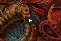Videos / Videos from the tapestry works of Maximo Laura