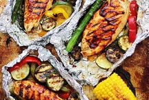 grill barbecue vegetable