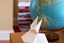 DIY: origami + paper crafts