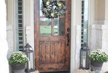 Door dcoration