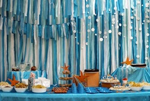 Big Ocean Blue & The Beach 2 / Ideas for under the sea party theme, crafts, foods, decorations. Anything from ocean creatures to building sandcastles.