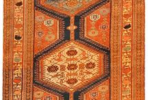 Vintage Persian rugs / Vintage and antique handmade Persian carpets.