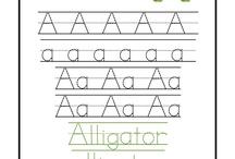 Preschool: Letter 'A a'